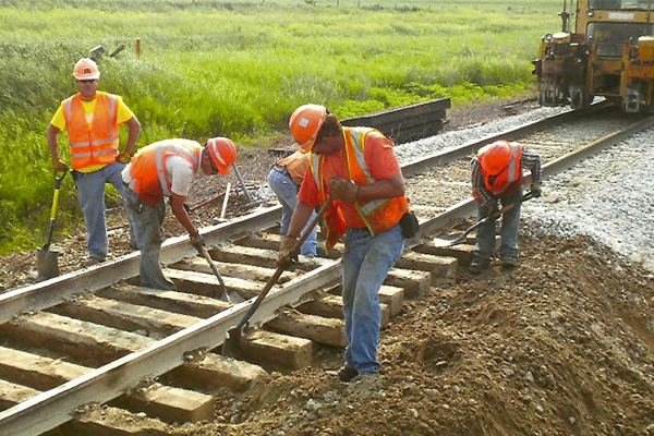 Diversified Track Works Railroad Builders, Rail Construction