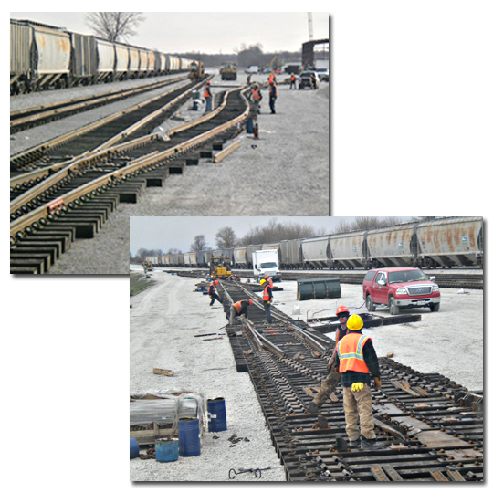 Diversified Track Works Railroad Rail Services and Maintenance